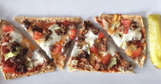 Cheeseburger Flatbread